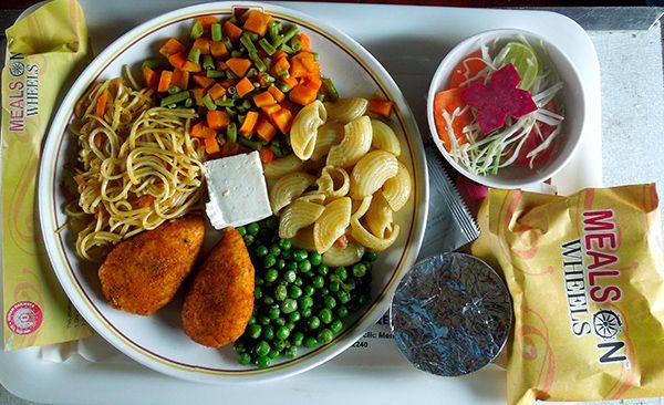 Indian Railways meals