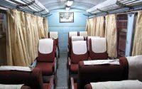 Indian Railways seats