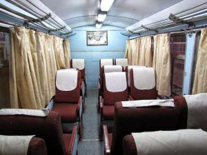 Indian Railways seats