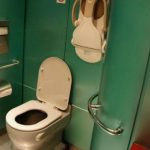 Indian Railways toilet