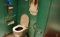 Indian Railways toilet
