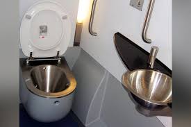 Vacuum toilets indian railways